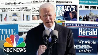 Biden's Two challenges: Covid and Congress   Meet The Press   NBC News