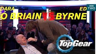 Dara Ó Briain VS Ed Byrne on the Top Gear track - BBC Two