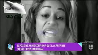 Depresión y bipolaridad  esposo de Anaís confirma que la dominicana está hospitalizada por una crisi