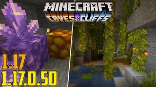 LUSH CAVES E MEGLIO DELLA JAVA! PAZZESCO! Minecraft Bedrock Beta 1.17.0.50