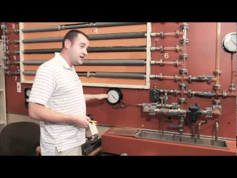 How to Pipe a Pressure Gauge in a Steam System
