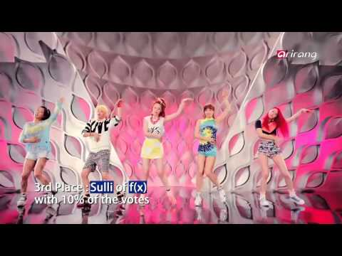 Showbiz Korea - TOP 5 MOST BEAUTIFUL IDOL GROUP MEMBERS(걸그룹 외모 서열 - 산다라박, 윤아, 설리, 수지, 나은)