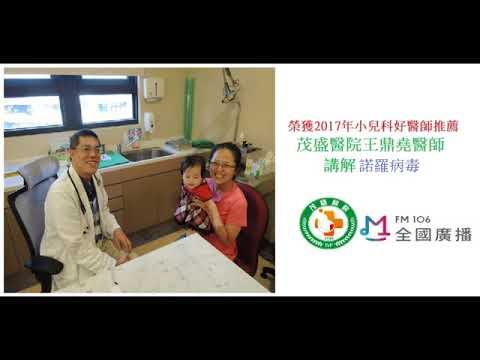王鼎堯醫師談諾羅病毒