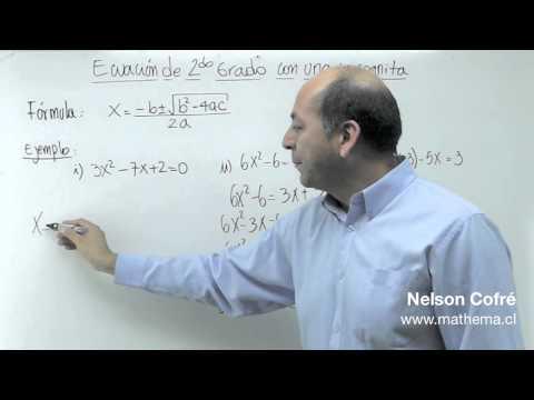 Ecuacion de 2º grado 3
