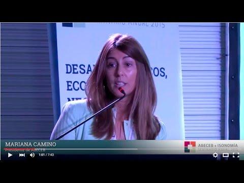 """Mariana Camino: """"Es necesario abordar la discusión política-económica de manera conjunta"""""""