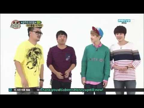[ENG] 131009 Weekly Idol - HENRY & KYUHYUN