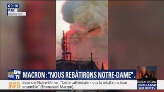 Retour sur l'incendie de la cathédrale Notre-Dame de Paris