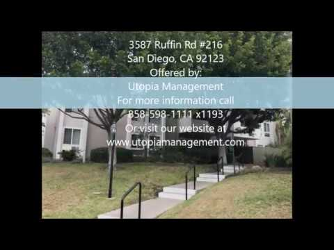 Mission Village Property Management For Rent - 3587 Ruffin Rd. #216