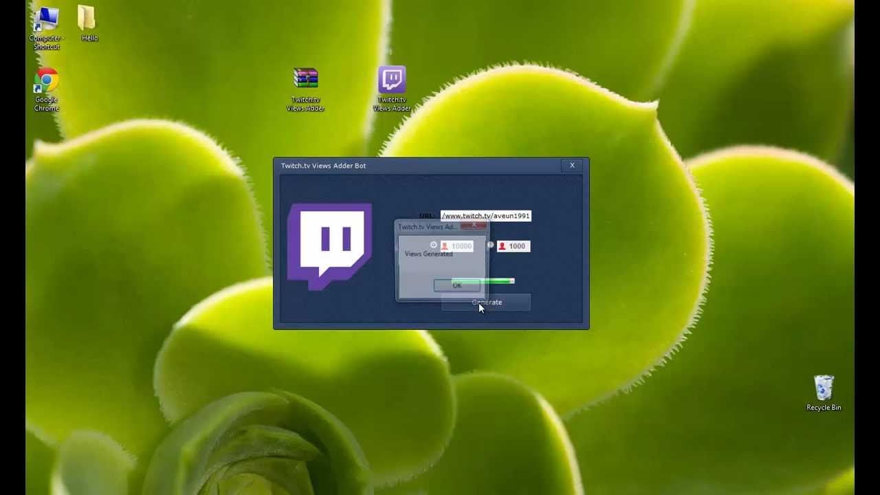 Single Use Twitch Viewer Bot And Twitch Tools - #Summer