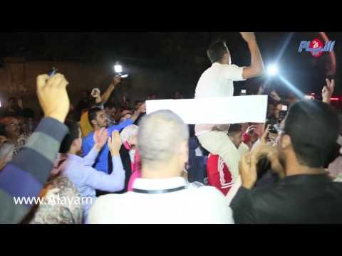 هكذا احتفل البيجيديون بفوز حزبهم فى انتخابات 7أكتوبر