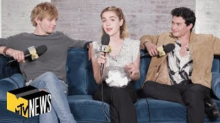 'The Chilling Adventures of Sabrina' Cast Plays 'Dive In' | MTV News