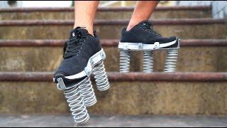 NTN - Thử Chạy Trên Chiếc Giày Lò Xo (Running with bionic boot)