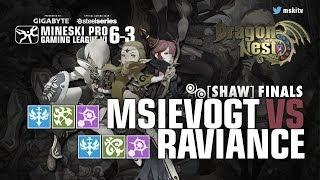 Game 1 - MsiEvoGT vs Raviance - Dragon Nest MPGL 6 - 3 MI Shaw