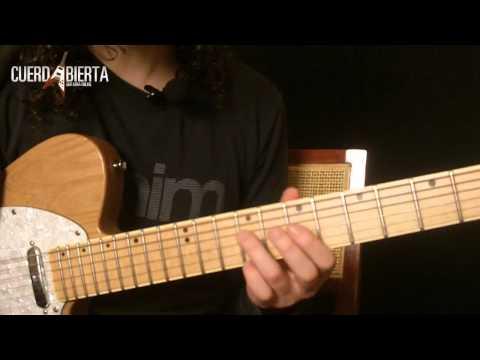 Aprende a tocar Persiana Americana - Soda Stereo - Leccion de guitarra inspirada en Gustavo Cerati