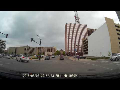 Dash Cam Video - Downtown Des Moines - Walnut & 10th Street [Full HD]