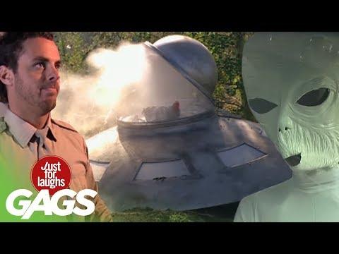 scherzi extraterrestri