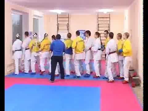 Сборы сборной Украины перед чемпионатом Мира 2009