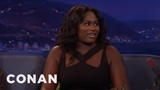 Danielle Brooks' Beatboxing Sounds Absolutely Filthy  - CONAN on TBS