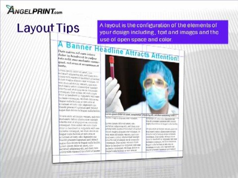 How to get your brochure print-ready