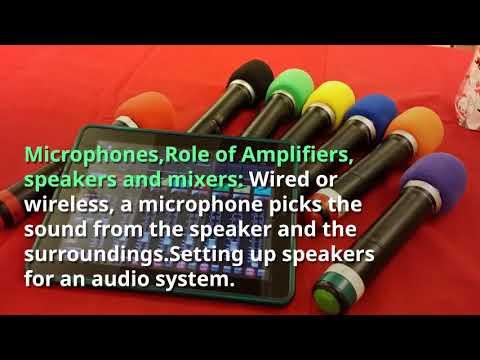 Speakers Rental Dubai - Rent Sound System in Dubai