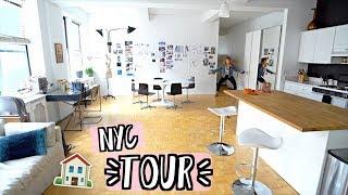 NYC Apartment Tour!! AlishaMarieVlogs
