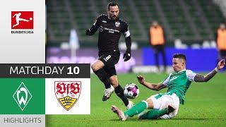 SV Werder Bremen - VfB Stuttgart   1-2   Highlights   Matchday 10 – Bundesliga 2020/21
