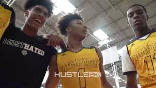 Mikey Williams PHYSICAL GAME Ends w/ GAME WINNER vs Basketball University. DROPS DEFENDER!