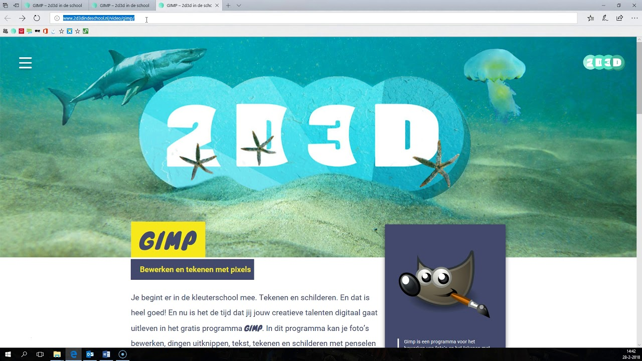 Word website ontwerp maken