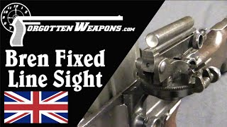 Very Rare and Mostly Pointless: the Bren Fixed Line Sight