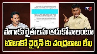 Initiate tobacco auction: Chandrababu writes letter to Tob..