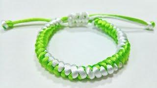 How to make bracelet simple, HƯỚNG DẪN LÀM VÒNG TAY MAY MẮN ĐƠN GIẢN NHẤT (1) handmade Kitty