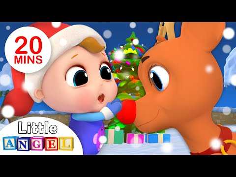Jingle Bells 🔔| Christmas Song for Kids +More Nursery Rhymes by Little Angel