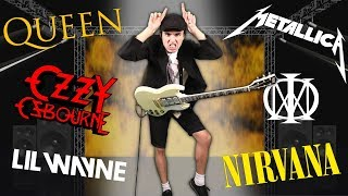 If ANGUS YOUNG Played Guitar For...