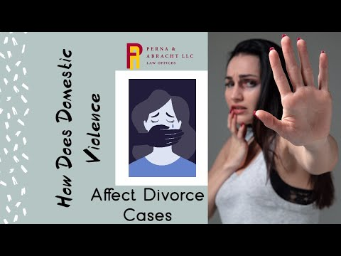 How Does Domestic Violence Affect Divorce Cases?