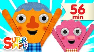 What's Your Name? | + More Kids Songs | Super Simple Songs