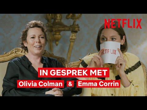 Olivia Colman & Emma Corrin interview | The Crown