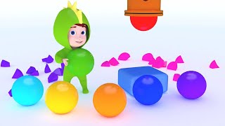Learn Colors for Children with Baby Dino video for Kids - Learning Colors for Kids Toddlers