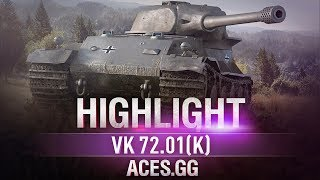 В новой форме нагиб прежний VK 72.01(K)