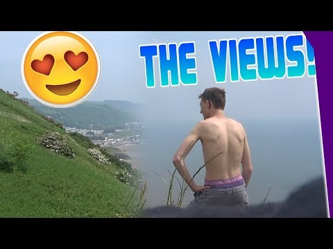 The views are stunning! - WALES 2018