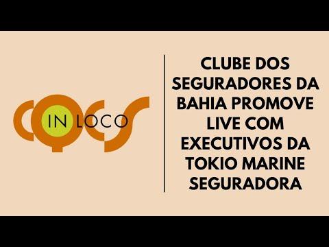 Imagem post: Clube dos Seguradores da Bahia promove live com Executivos da Tokio Marine Seguradora