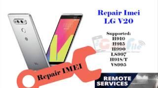 repair imei blacklist lg v20 h910 at Videos - Playxem com