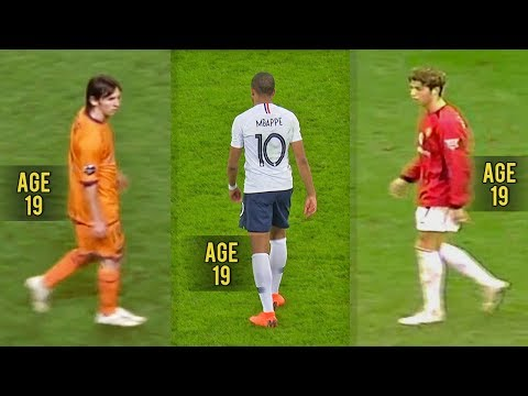Mbappé is Good but... Messi & Ronaldo were Monsters at 19!