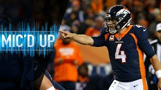 Case Keenum Mic'd Up vs. Browns