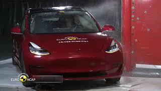Tesla Model 3 - Crash Tests - 2019