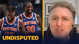 """The New York Knicks are definitely for real"" — Michael Rapaport 