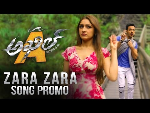 Akhil-Movie-Zara-Zara-Song-Promo