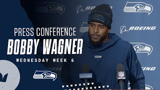 Bobby Wagner Seahawks Wednesday Press Conference - October 13