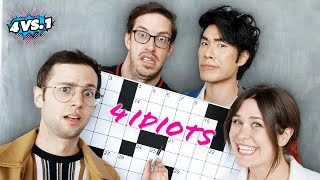 Can 4 Average People Beat A Pro Crossword Puzzler?