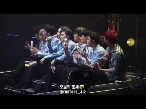 160722 EXO'rDIUM CONCERT LOVE LOVE LOVE Acoustic Ver. (EXO FULL FOCUS), 경수의 애드립이 돋보이는 럽럽럽 어쿠스틱 버전~♡