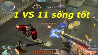[ Bình Luận CF ] M4A1-XS Legend Dragon - Tiền Zombie v4